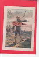 CHROMO /CAVALIER NORMAND 1066 / MILITARIA / DESCRIPTION HISTORIQUE /  A TRAVERS LE TEMPS  / SERIE H.C./ - Cromo