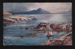 058825 UK Blind Sound & Clare Island Vintage TUCK PC - Mayo
