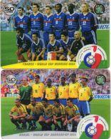 2 Cartes Prépayées  FRANCE 98 - Sport