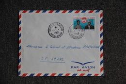 Lettre De MADAGASCAR Vers Secteur Postal 69092 - Madagascar (1960-...)