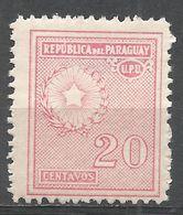 Paraguay 1935. Scott #279 (M) National Emblem - Paraguay