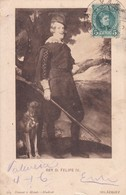 REY D. FELIPE IV, VELAZQUEZ. HAUSER Y MENET-CIRCULEE TO URUGUAY-TBE-BLEUP - Peintures & Tableaux