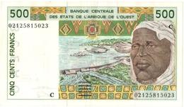 BILLET. BANQUE CENTRALE Des ETATS De L'AFRIQUE De L'OUEST. 500 FRANCS. - West African States