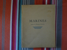 Marines Au Rythme Des Jours Poèmes De Marie Clavel Préface De JB Charcot Illustrés Par L Haffner Ex 232/300 1932 (D) - Books, Magazines, Comics