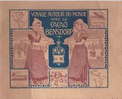 Vers 1900 Livret Sur CACAO BENSDORP :voyage Autour Du Monde;divers Vues De Christiania,Stockholm (Suède,Danemark) - Chocolate