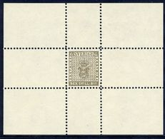 SWEDEN 1855  6 Skilling Banco 1979 Reprint In Small Block, Unused Without Gum.  As Facit 3 - Proofs & Reprints