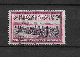 LOTE 1567  ///   NUEVA ZELANDA 1940 - Usados