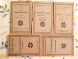 Cahiers Du Centenaire De L'Algérie 5 Volumes  (D) - Books, Magazines, Comics