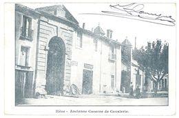 Cpa Mèze - Ancienne Caserne De Cavalerie - Mèze