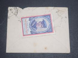 GRANDE BRETAGNE - Vignette Patriotique Au Verso D'une Enveloppe En 1917 - L 11982 - 1902-1951 (Könige)