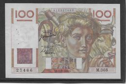 France 100 Francs Jeune Paysan - 12-10-1950 - Fayette N°28-27 - SUP - 1871-1952 Antiguos Francos Circulantes En El XX Siglo