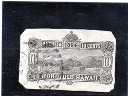 B - 1884 Hawaii - Veduta Di Honolulu - Hawaii