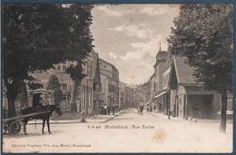 Montbéliard , Rue Cuvier , Voir Scan Du Dos , Animée - Montbéliard