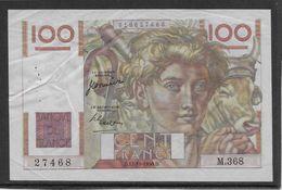 France 100 Francs Jeune Paysan - 12-10-1950 - Fayette N°28-27 - TTB - 100 F 1939-1942 ''Sully''