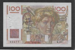 France 100 Francs Jeune Paysan - 16-11-1950 - Fayette N°28-28 - TTB - 100 F 1939-1942 ''Sully''