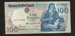 PORTUGAL - BANCO De PORTUGAL - 100 ESCUDOS (1985) - Portogallo