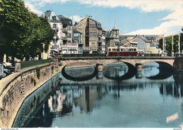 90) BELFORT : Le Pont Sur La Savoureuse (Pub - BYRRH) - Belfort - Ville