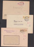 ZKD-Briefe B25L, 19IIC, 27V Braunkohle Greifenhain NL. Berlin O17 DEGUFA - [6] Oost-Duitsland