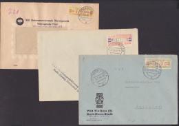 DDR ZKD-Briefe B19A, 27V, 31IP Wernigerode Elektromotorenwerk, Halle Karl-Marx-Stadt - [6] Oost-Duitsland