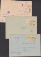 Germany East DDR ZKD-Briefe B17J, 27V, 19IC Schwerin Cottbus Halle Rat Des Bezirkes - [6] Democratic Republic