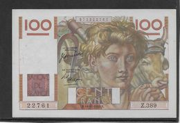 France 100 Francs Jeune Paysan - 16-11-1950 - Fayette N°28-28 - SUP/SPL - 100 F 1939-1942 ''Sully''