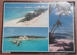 MALDIVES – VIAGGIATA 1990 – (2178) - Maldive