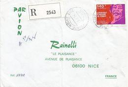 Congo 1974 Pointe Noire Cite Jazz Music Ella Fitzgerald Registered Cover - Congo - Brazzaville