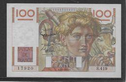 France 100 Francs Jeune Paysan - 7-2-1952 - Fayette N°28-31 - SPL - 1871-1952 Gedurende De XXste In Omloop