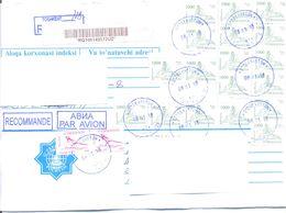 2018. Uzbekistan, The Letter Sent By Registered Air-mail Post To Moldova - Uzbekistan