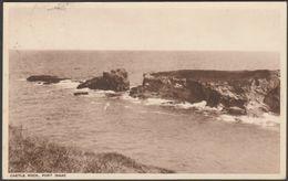 Castle Rock, Port Isaac, Cornwall, 1950 - Pearson Postcard - England