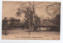 BRAZZAVILLE (CONGO) - VILLAGE DE M'PILA - Brazzaville