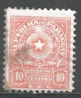 Paraguay 1954. Scott #468A (M) Coat Of Arms - Paraguay