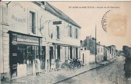 CPA: SAINT NOM La BRETECHE   Route De Saint Germain - St. Nom La Breteche