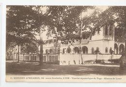 Afrique Togo Vicariat Apostolique Mission Lyon  De Lomé - Togo