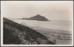 St Michael's Mount, Cornwall, C.1930 - RP Postcard - St Michael's Mount