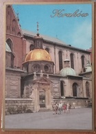 KRAKOW – CRACOW – CRACOVIA – THE FRAGMENT OF THE WAWEL CATHEDRAL WITH THE SIGISMUNT CHAPEL – VIAGGIATA – (2192) - Polonia