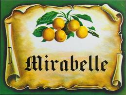 ETIQUETTE De MIRABELLE - Très Bon état - Labels