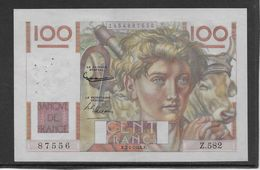 France 100 Francs Jeune Paysan - 7-1-1954 - Fayette N°28-41 - SUP - 1871-1952 Gedurende De XXste In Omloop
