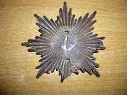 Plaque Casque  Saxon - 1914-18