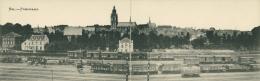 BELGIQUE  HALLE  / Hal Panorama    /  CARTE PANORAMIQUE RARE Format  8,9 * 28 - Halle