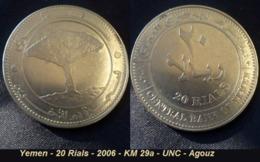 Yemen - 20 Rials - 2006 - KM 29a - UNC - Agouz - Yémen