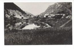 19112 - Le Lauzet Vallée De L'Ubaye Vue Générale Et Le Lac - France