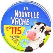 """Algérie - 1  Couvercle De  Fromage Fondu """" La Nouvelle Vache 16 Portions.. - Fromage"""