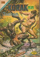 Korak El Hijo De Tarzán - Serie Aguila, Año V N° 54 - 08 Août 1976 - Editorial Novaro - México Y España - Mensual Color. - Livres, BD, Revues