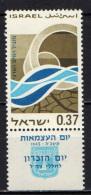 "ISRAELE - 1965 - ""Irrigation Of The Desert"" - NUOVO MNH - Nuovi (con Tab)"