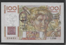 France 100 Francs Jeune Paysan - 1-4-1954 - Fayette N°28-43 - SUP - 1871-1952 Antiguos Francos Circulantes En El XX Siglo