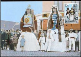 BELG.1971 1593 - MK - Ath, Reuzenechtpaar Goliath - Cartes-maximum (CM)