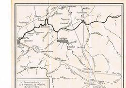 La Mansuerisca La Vapisca La Vesdre Et Verviers - Geographical Maps