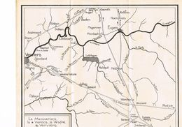 La Mansuerisca La Vapisca La Vesdre Et Verviers - Cartes Géographiques