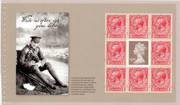 Great Britain 2014 Sg. U3021a St Pane Ex GREAT WAR 1914 Psb Cat.£ 4,50 - 1952-.... (Elisabetta II)